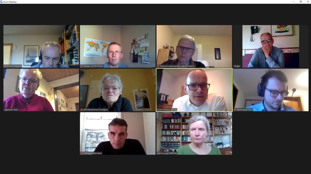 Online Fraktionssitzung 12.04.2021